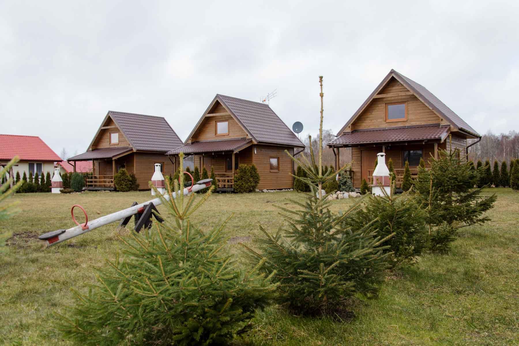 Domki letniskowe w Kopalinie